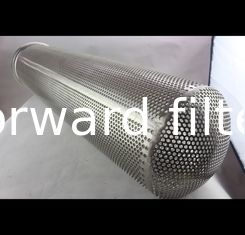 Thickness 20-50 mm Spiral Perforated Tube Galvanized Steel Custom Length