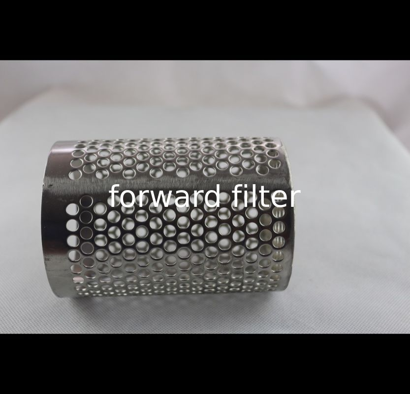 Metal Perforated Aluminium Tube , Custom Length Perforated Stainless Steel Pipe