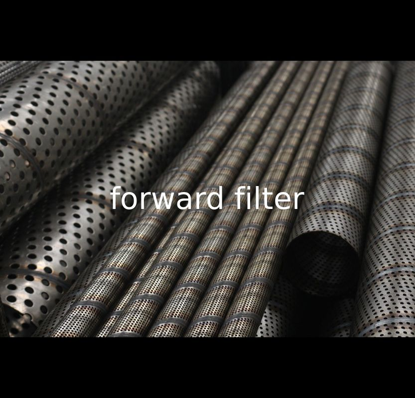 AISI ASTM Perforated Metal Pipe , Perforated Stainless Steel Exhaust Tubing