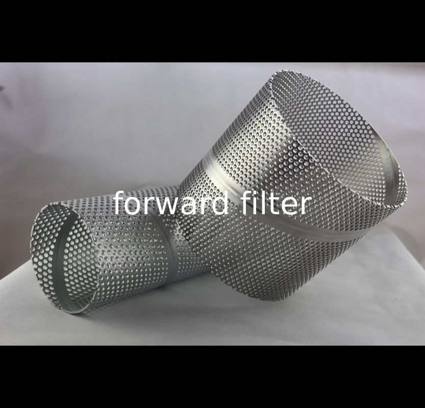 Precise Open Rate Perforated Cylinder With Customized Metal High Pressure