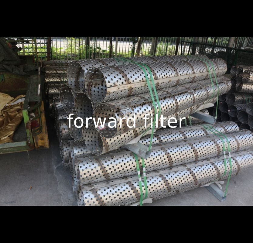 Petroleum Filtrations Perforated Filter Tube Length 10000 Mm Perforation Pattern