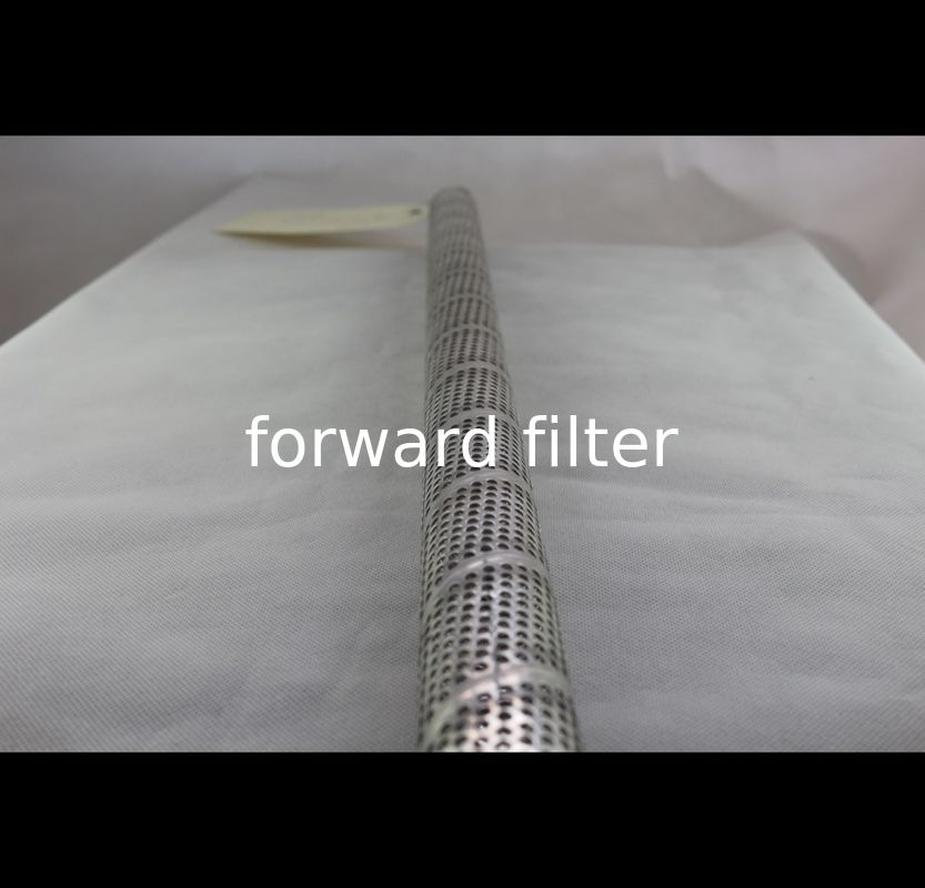Silver Perforated Stainless Tube , Eco Friendly 10000 Mm Perforated Steel Pipe
