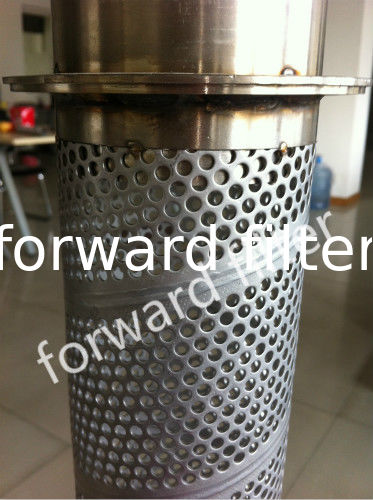 Welded Spiral Perforated Tube For Automotive Exhaust System And General Industry