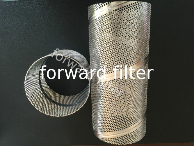 Stainless Perforated Steel Tubing For Construction / Food / Chemical Industry