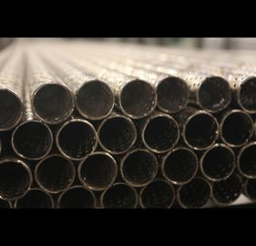 3 Meters Perforated Round Tubing 304 316 Stainless Steel Custom Thickness
