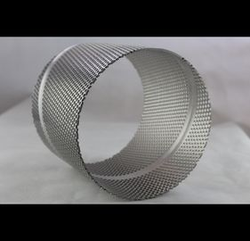 Square Round Perforated Cylinder For Architecture Audio ISO9001 Approved