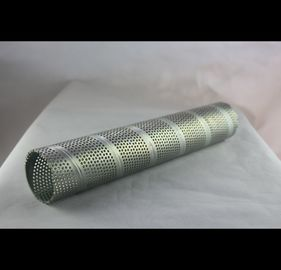 Steel Alloy Perforated Cylinder Thickness 0.1mm-50mm With Polished Surface