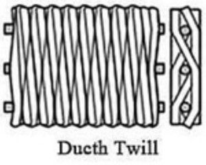 Twilled Weave Perforated Exhaust Tubing , Spiral Welded Perforated Muffler Tubing